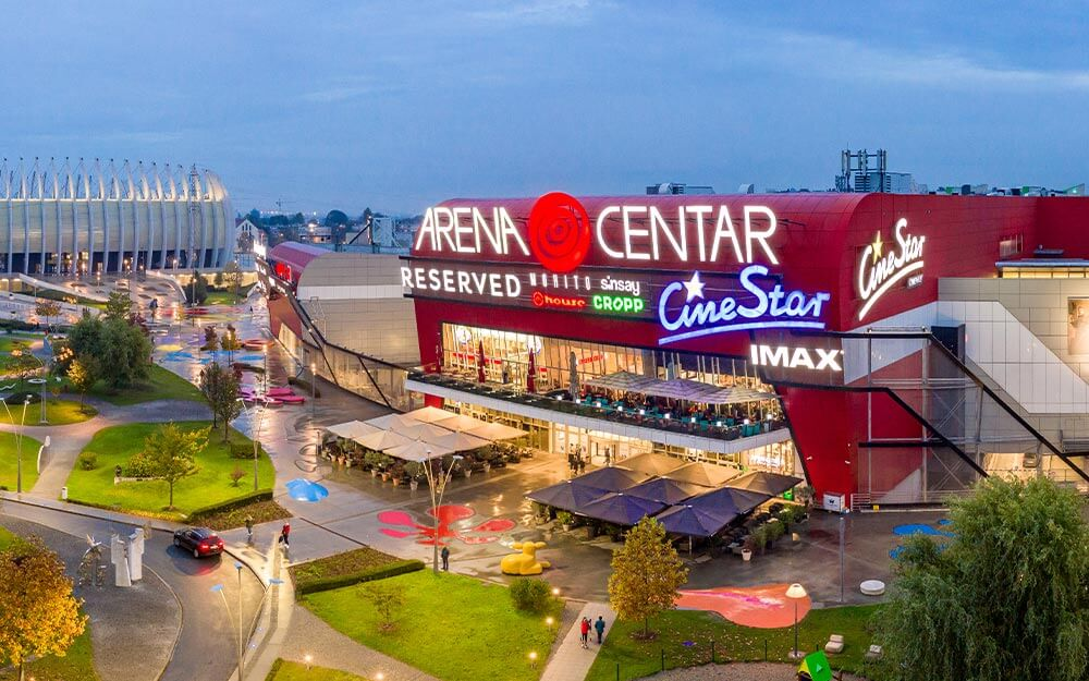 Arena Centar And Retail Park Nepi Rockcastle